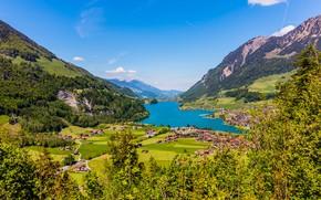 Picture mountains, Switzerland, Brienz