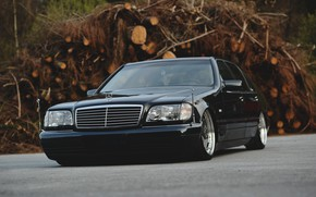 Picture S-Class, W140, S500, LONG, Mercedec - Benz