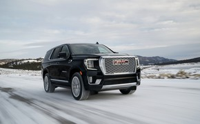 Picture road, GMC, SUV, Denali, Yukon, 2020