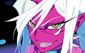 Picture look, girl, smile, the demon, Panty & Stocking with Garterbelt