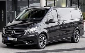 Picture Mercedes, Mercedes Benz, minibus, Vito, Mercedes-Benz Vito, Mercedes Vito