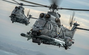 Picture Helicopter, Airbus Helicopters, Of the Navy of Chile, H225, Airbus Helicopters H225M, RCC, MBDA, AM39 …