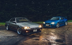 Picture GTR, Nissan, Coupe, Skyline, R34, R30, GTR R34, R31
