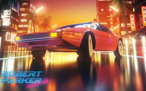 Picture Auto, Music, The city, Machine, Background, Synthpop, Synth, Retrowave, Synthwave, New Retro Wave, Robert Parker, …