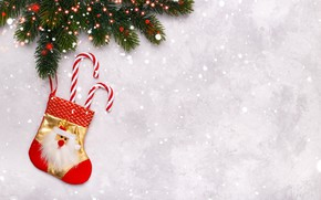 Picture snow, New Year, Christmas, Christmas, snow, New Year, decoration, Happy, Merry, fir tree, fir-tree branches