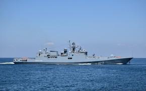 Picture ship, The black sea, guard, Admiral Essen, author Erne