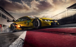 Picture racing car, DTM, BMW M4