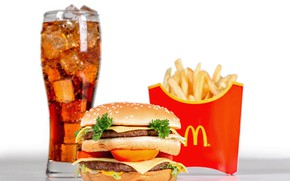 Picture ice, glass, cheese, drink, vegetables, hamburger, Patty, Cola