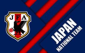 Picture Japan, Logo, Soccer, FIFA, Emblem, AFC, Japan National Football Team