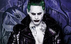 Picture look, makeup, Joker, Suicide Squad, Suicide Squad
