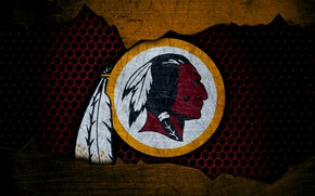 Picture wallpaper, sport, logo, NFL, american football, Washington Redskins