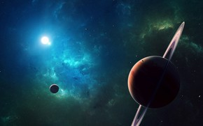 Picture space, stars, space, the universe, planet