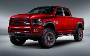 Wallpaper Dodge, pickup, 2018, Ram, 2500, Apache Customz Trucks