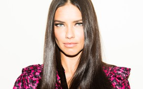 Picture look, makeup, Adriana Lima, Adriana Lima, hair, look, Hair, Victoria's Secret, makeup, supermodel