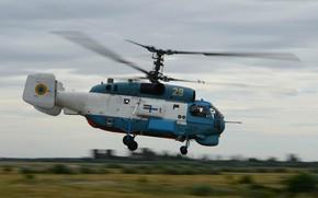 Picture helicopter, Kamov, anti-submarine, Ka-27, ship, The Ukrainian Navy