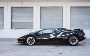 Picture Black, Supercar, Super Veloce, 1998 Lamborghini Diablo SV