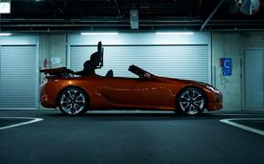 Picture Lexus, convertible, convertible top, 2021, LC 500 Convertible