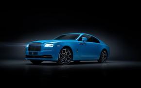 Picture Rolls-Royce, Wraith, Black Badge, 2019