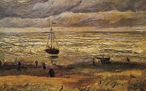 Picture ship, Vincent van Gogh, View of the Sea, at Scheveningen