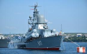 Picture ship, rocket, small, Mirage, Sevastopol