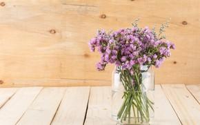 Picture flowers, bouquet, vase