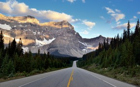 Picture Nature, Road, Mountains, Forest, Landscape