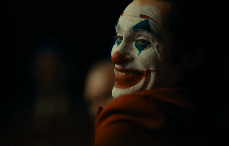 Photo wallpaper smile, clown, Joker, Thriller, drama, Joker