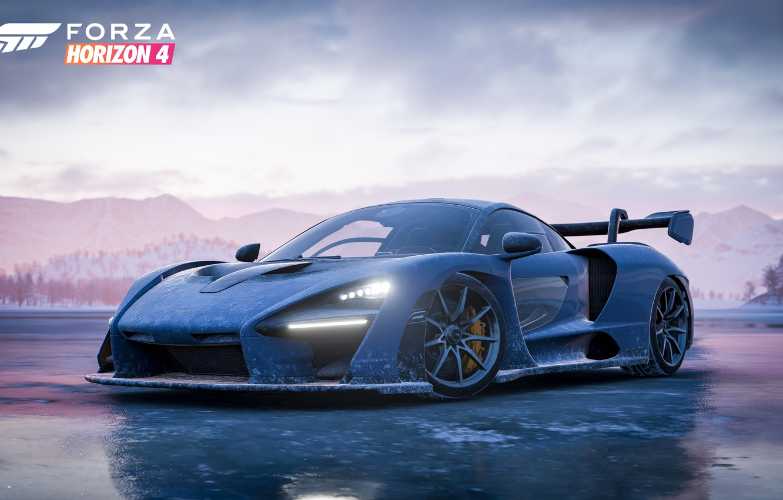 Wallpaper Mclaren Microsoft Game 2018 Senna Forza