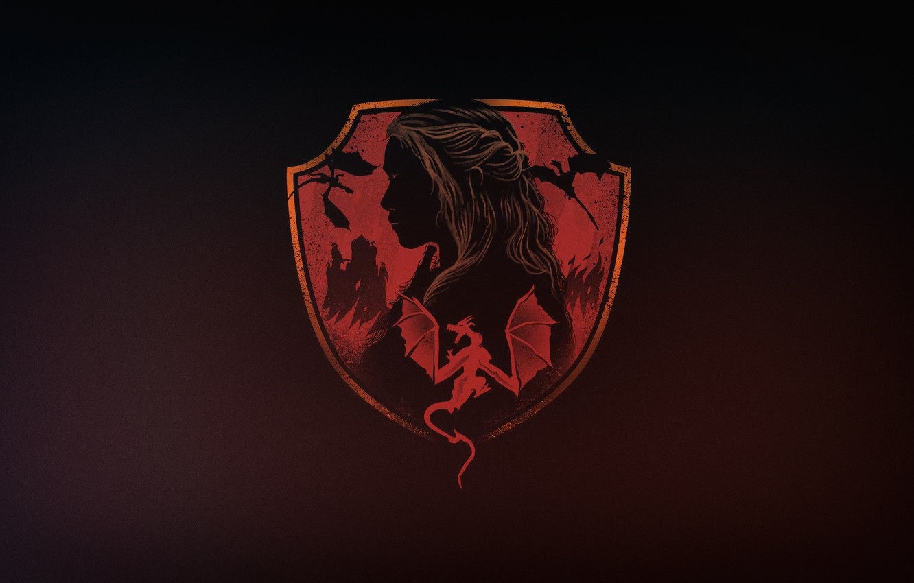 Wallpaper Minimalism Background Art Game Of Thrones By