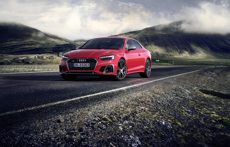 Photo wallpaper Audi, TDI, Coupe, Audi S5, 2020
