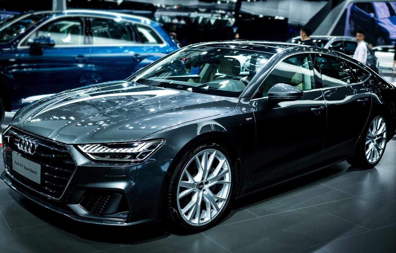 Photo wallpaper Audi, Audi, black