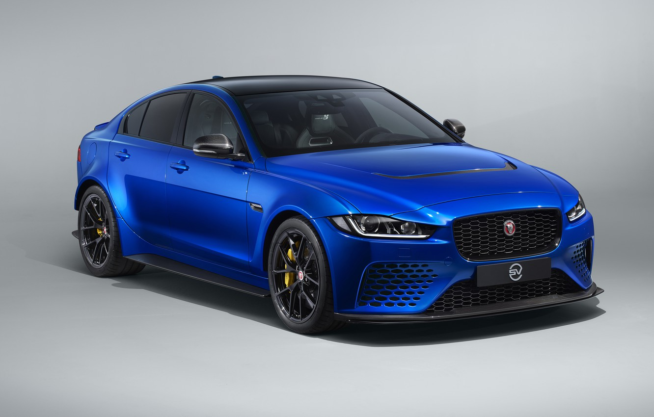 Photo wallpaper Jaguar, Touring, 2019, XE SV, Project 8