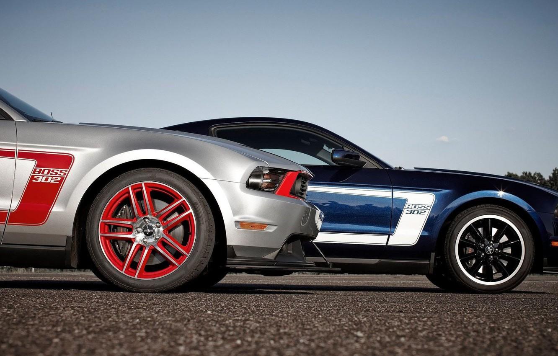 Photo wallpaper Mustang, Ford, Boss 302, Cars
