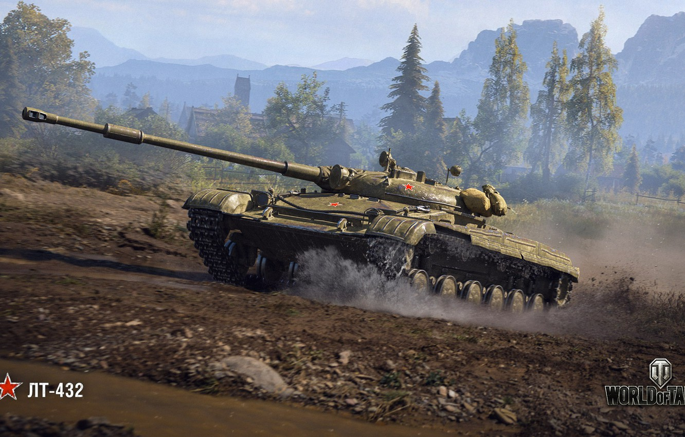 Wallpaper Wot World Of Tanks Wargaming Lt 432 Images For