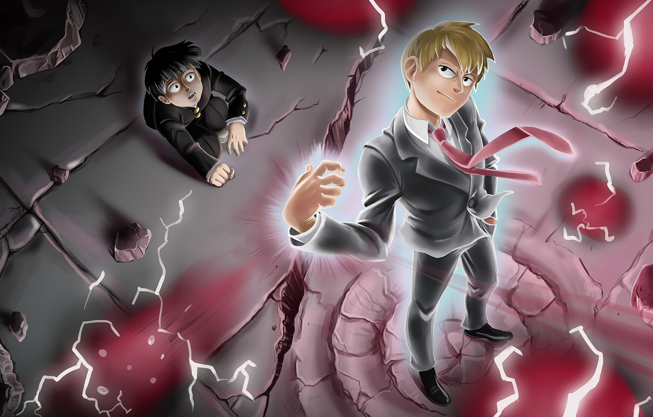 Wallpaper The Wreckage Power Mob Psycho 100 Kageyama
