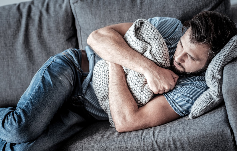 Wallpaper Depression Sofa Pillow Doubts Low Self Esteem Images For Desktop Section Muzhchiny Download