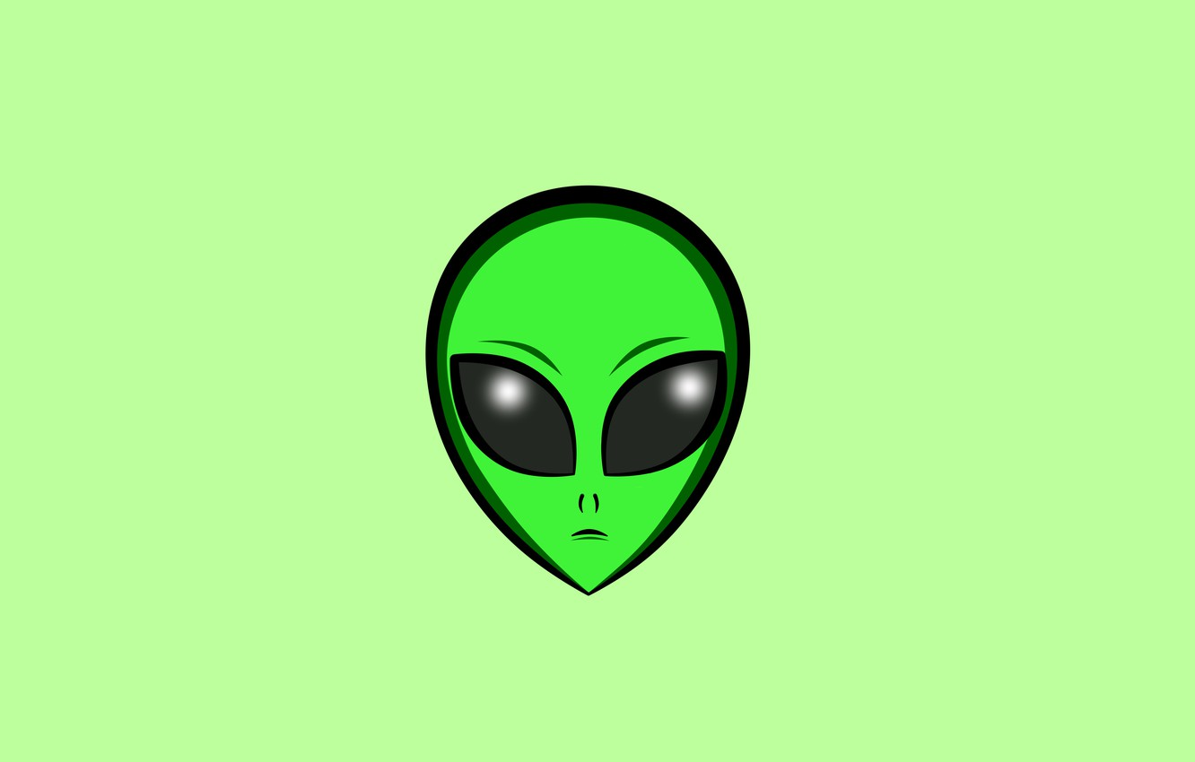 Wallpaper Minimalism Alien Wallpapers Space Alien Images For Desktop Section Minimalizm Download