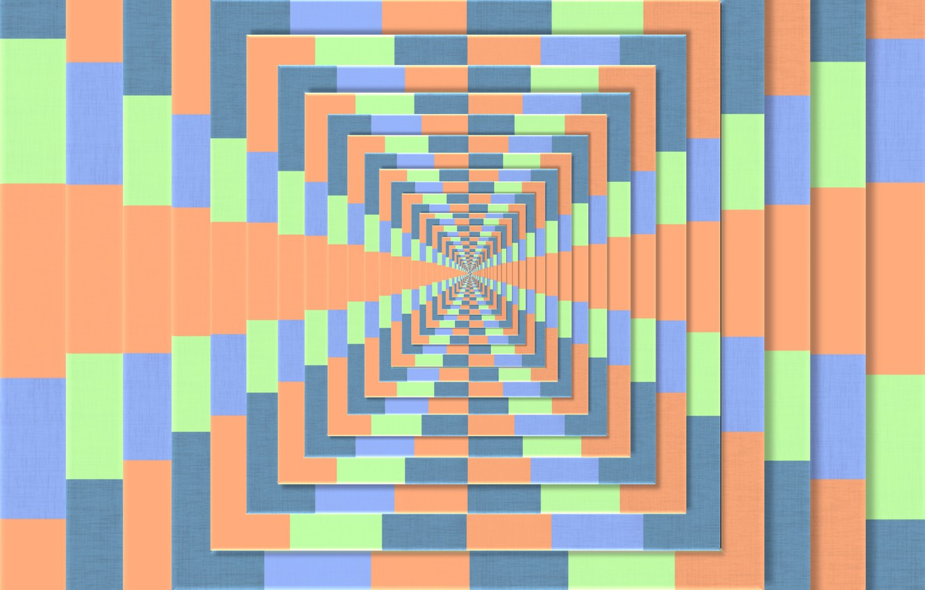 Wallpaper Line Background The Tunnel Illusion Optical