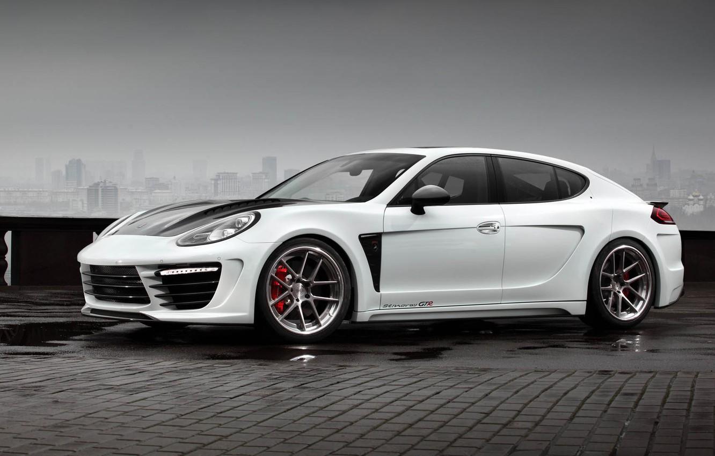 Photo wallpaper Ball Wed, Porsche Panamera, Gran Turismo, five-door sporty fastback, Stingray GTR