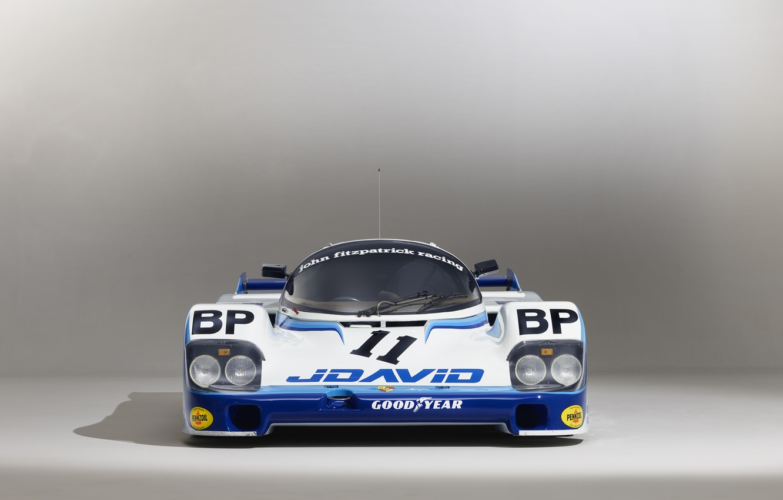 Photo wallpaper Porsche, Lights, 24 Hours of Le Mans, 24 hours of Le Mans, 1983, Sports prototype, …