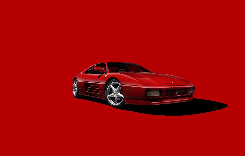 Photo wallpaper Ferrari, Italy, Scuderia, RED, Testarossa, Backgraund