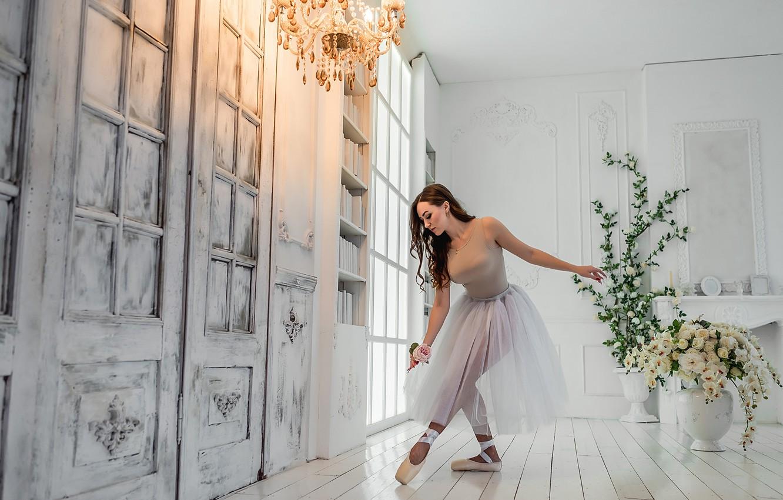 Photo wallpaper dance, Pretty, A Diakov George