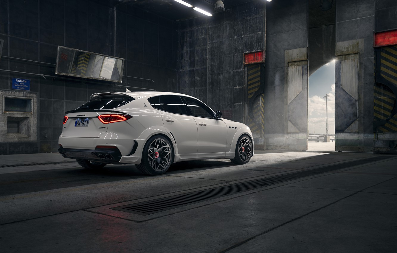 Photo wallpaper Maserati, crossover, Rosso, Novitec, 2020, Q4, GranSport, Levante S, Extended V2