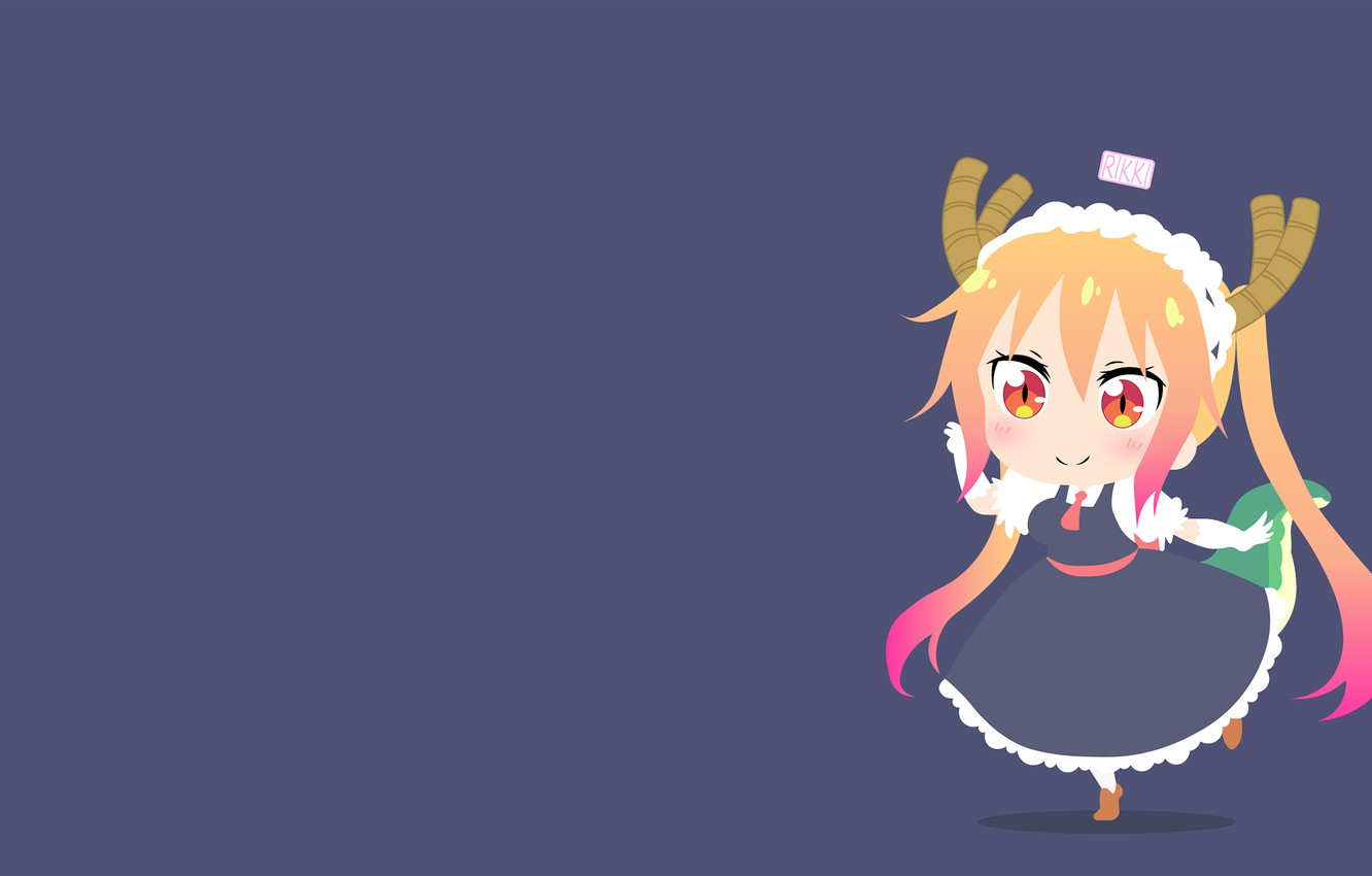 Wallpaper Background Girl Baby Kobayashi San Chi No Maid Dragon