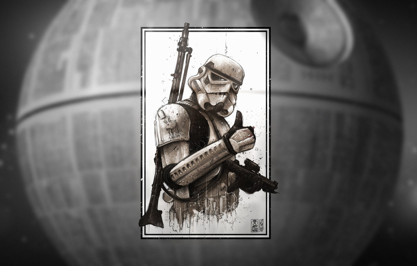 Empire, Art, Stormtrooper, StarWars
