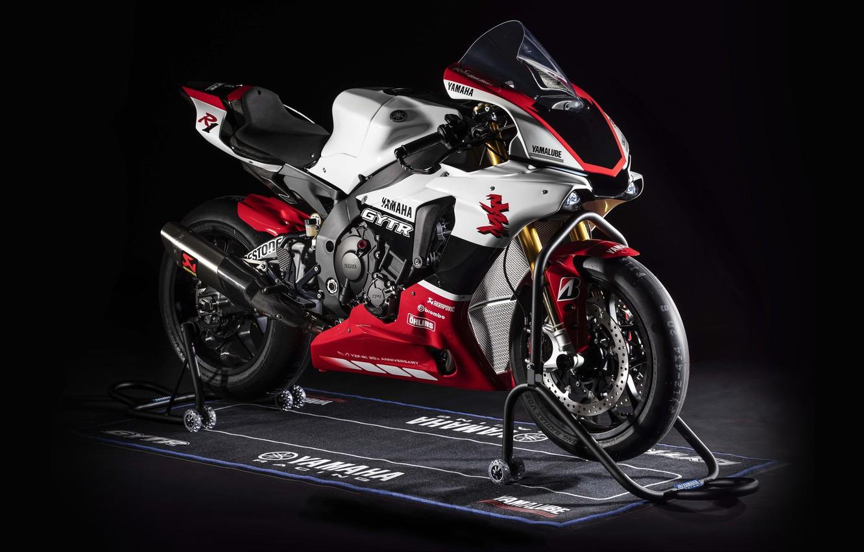 Photo wallpaper motorcycle, bike, Yamaha, YZF-R1, 2019, GYTR