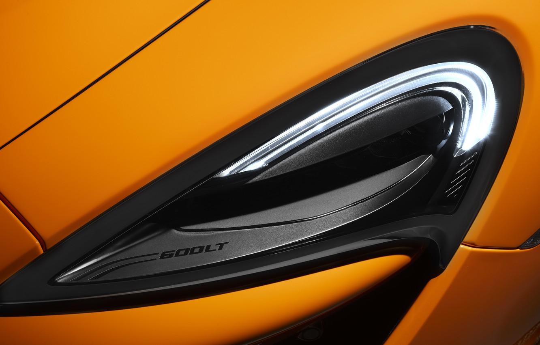 Photo wallpaper McLaren, headlight, supercar, 2019, 600LT
