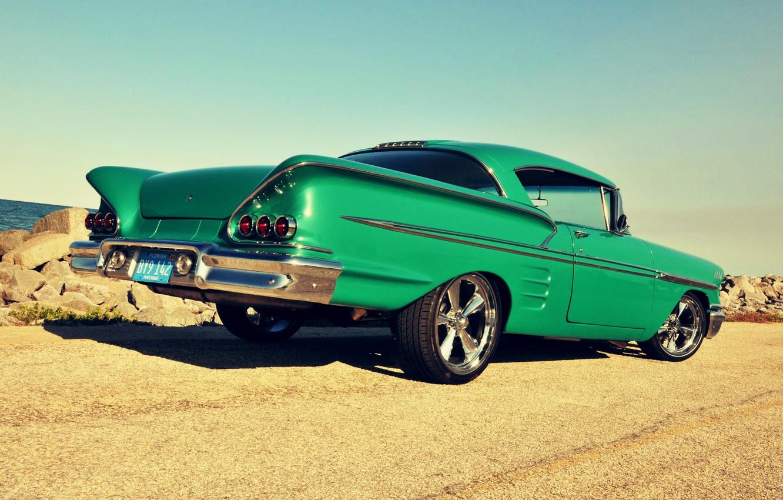 Photo wallpaper Classic, Green, Impala