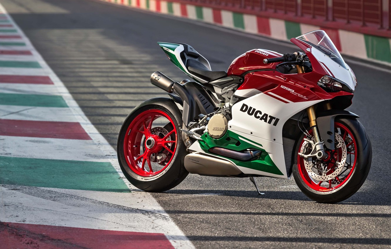 Photo wallpaper motorcycle, bike, Ducati, 2018, Panigale, Final Edition, 1299, Panigale R