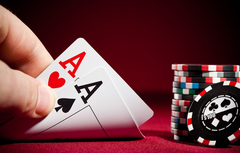 Photo wallpaper money, poker, tactics, cards, bets